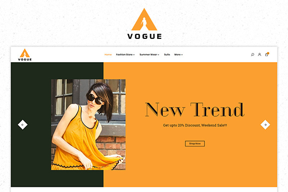 Vogue Free Prestashop Themes