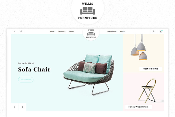 willis free prestashop template