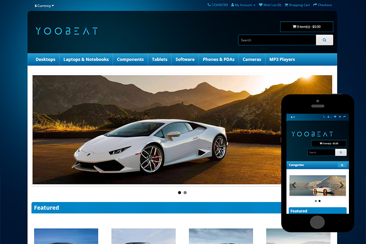 zbeat-free-opencart-theme