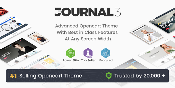 Journal Best Selling Opencart Theme