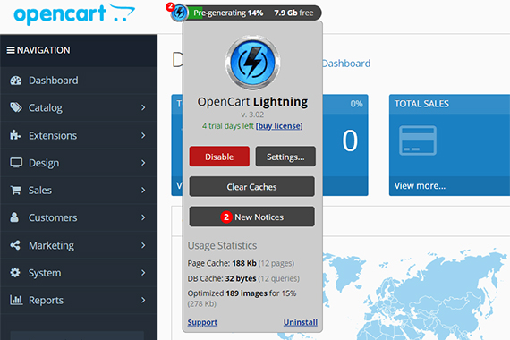OpenCart Lightning - Most Effective Accelerator
