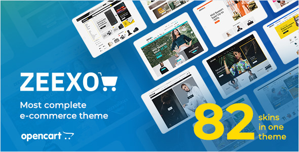 Zeexo - Premium OpenCart Theme