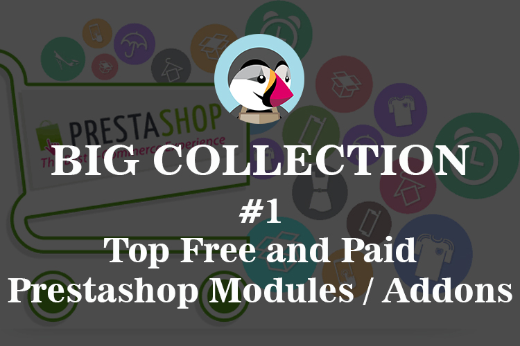 big collection top free and paid prestashop modules