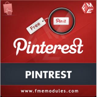 pinterest prestashop module