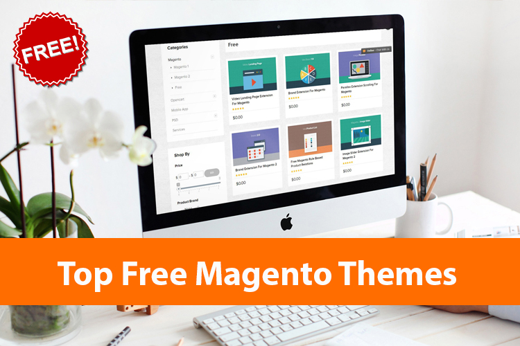 top free magento themes